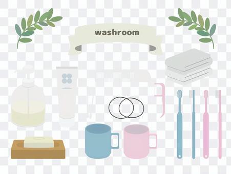廁所用品套裝