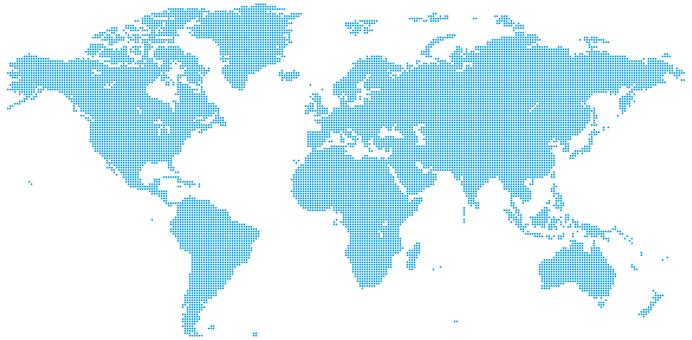 World map_dot_Africa center