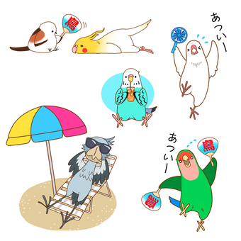 Kotori Pose Set 玄鳳鸚鵡鸚鵡
