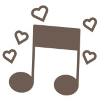 Music musical notes simple cute symbols
