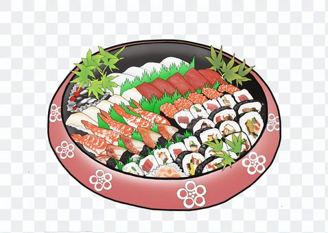 壽司的流蘇