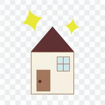 Image of detached house (image of new construction)
