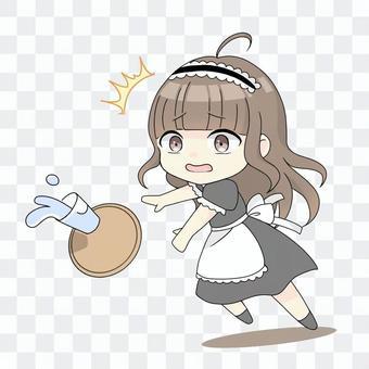 ドジっ子メイドさん