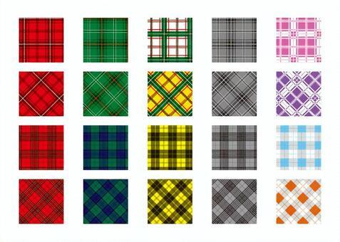 Swatch series tartan check