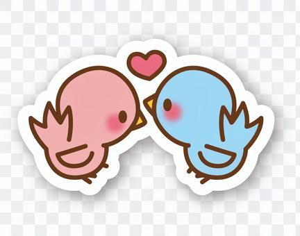 【Seal】 Bird * Couple