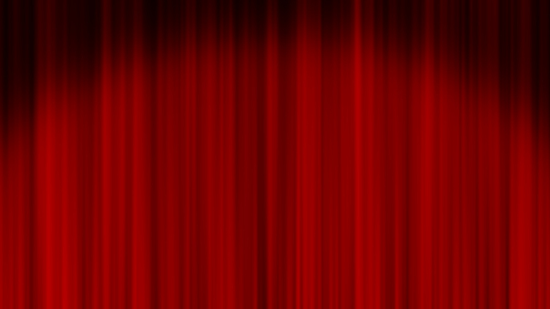 Spotlight and Red Stage Curtain 3 Full HD