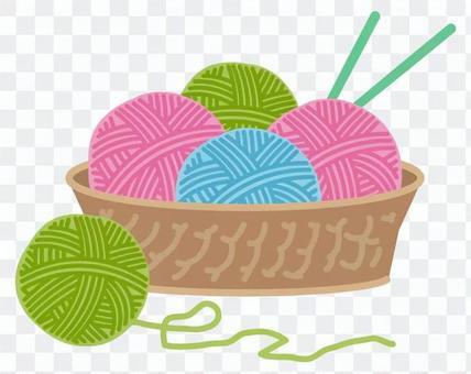 針織羊毛球2