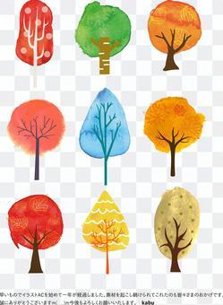 秋季可能使用的背景材料52