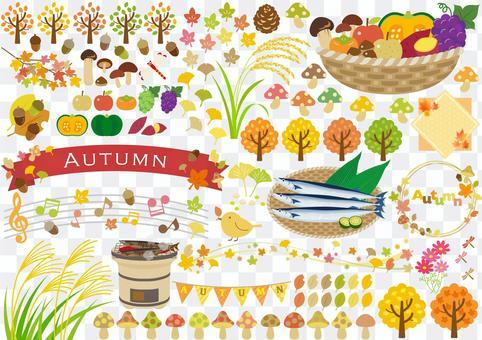 Autumn image material 87