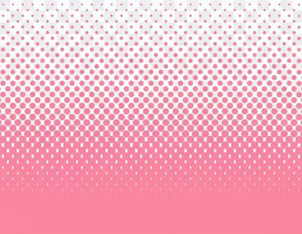 點漸變_長粉紅色