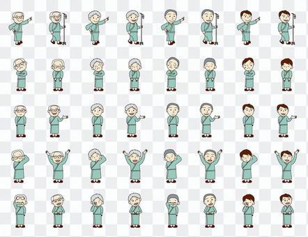 人系列住院病人