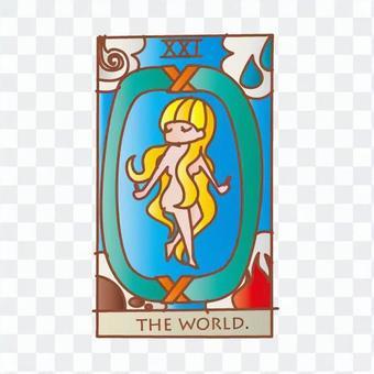 Tarot card world