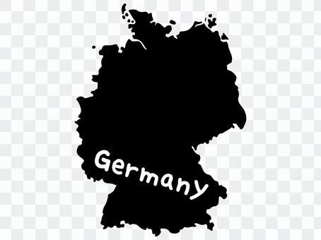ドイツシルエット