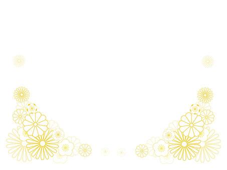簡約日式花框