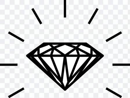 鑽石線條藝術水平