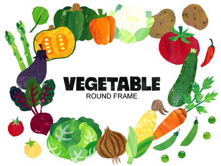 圓形蔬菜架