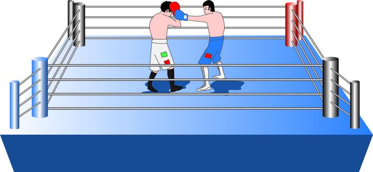 Boxing hook block match men