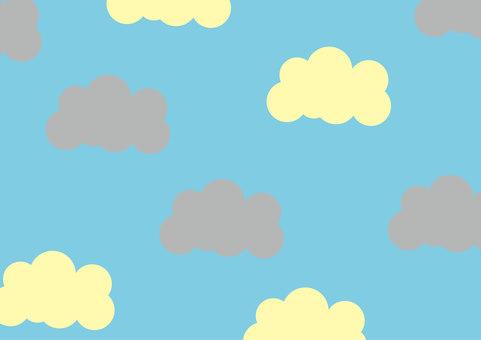 背景天空和雲彩