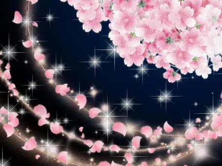 櫻花背景素材