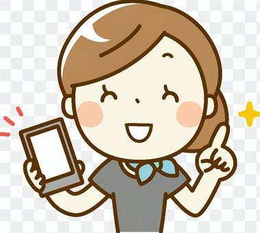 美學家woman_smartphone