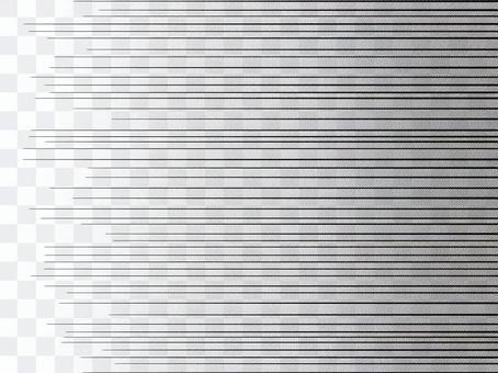 單色卡通表達速度線與色調