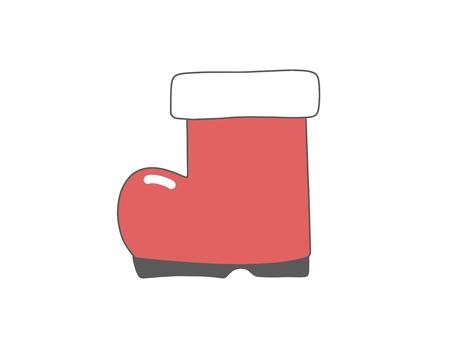 Christmas Santa Claus boots