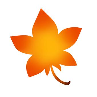 秋葉(橙色)圖標(無背景色)