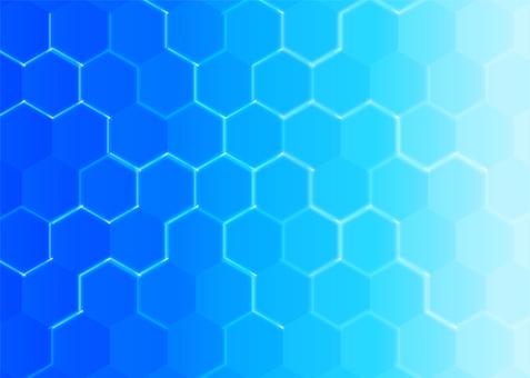 藍色科學形象