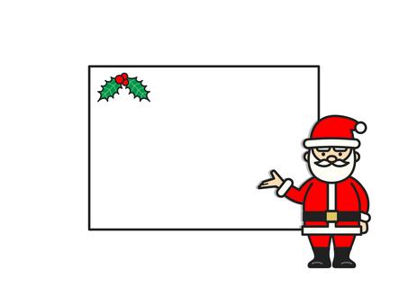 聖誕老人留言板(全身)