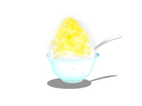 刨冰/黃色