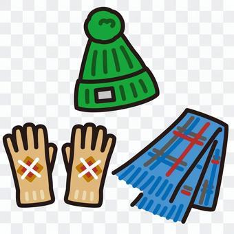 防寒具 帽子 手袋 マフラー