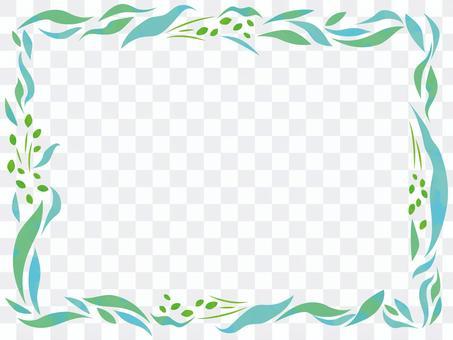 植物のフレーム【3】