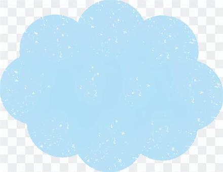 雲郵票風格