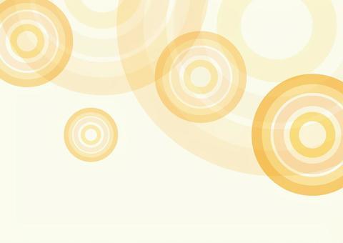 秋季活動POP背景材料(幾何圖案)圈