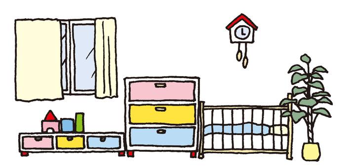 寶貝的房間