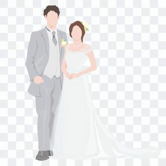 Married _ bride and groom