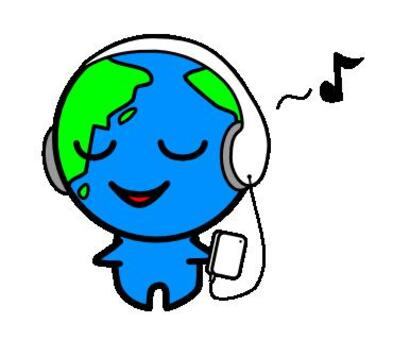 Listen to music Earth