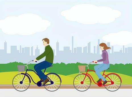 騎自行車的材料
