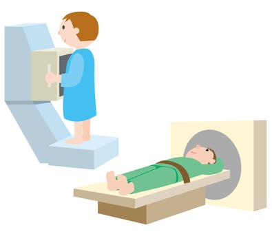 CT掃描和X射線