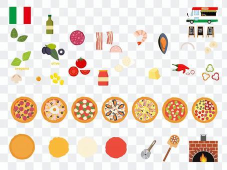世界の食シリーズ①ピザ