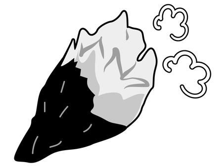烤紅薯:食慾的秋天(黑白)