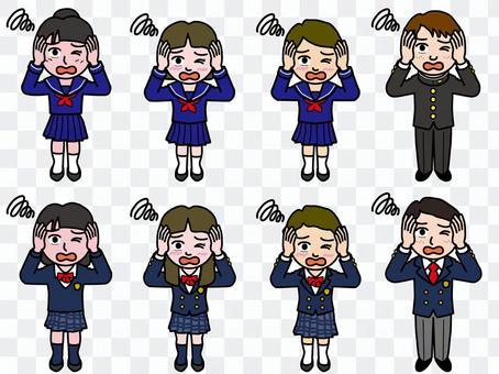 Ichi A_初中生和高中生全身12_絕望