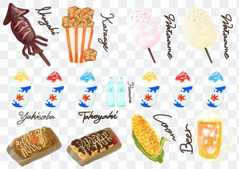 節日食品分類