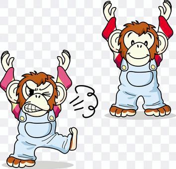 Chimpanzee set