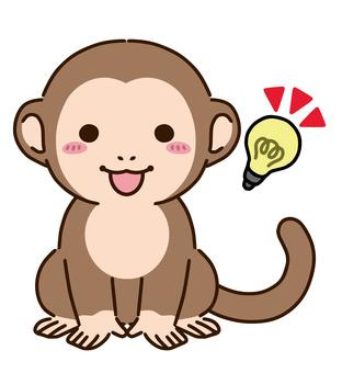 A monkey that inspires something