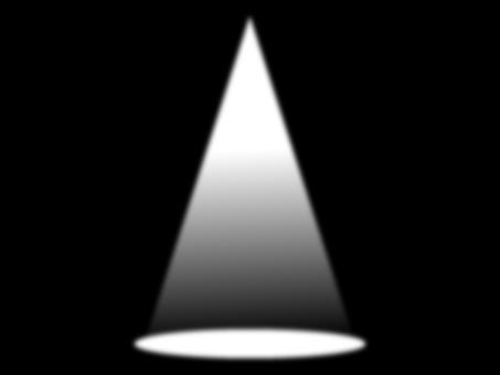 Spotlight from one light