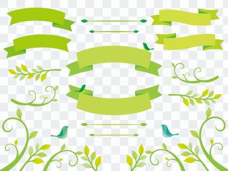 Plant illustration material (4)