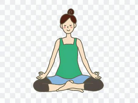Women who do yoga 3