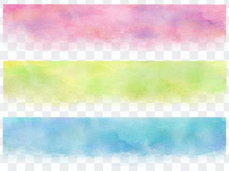 Watercolor banner 2