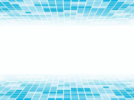 背景 - 廣場附近的角度 - 藍色